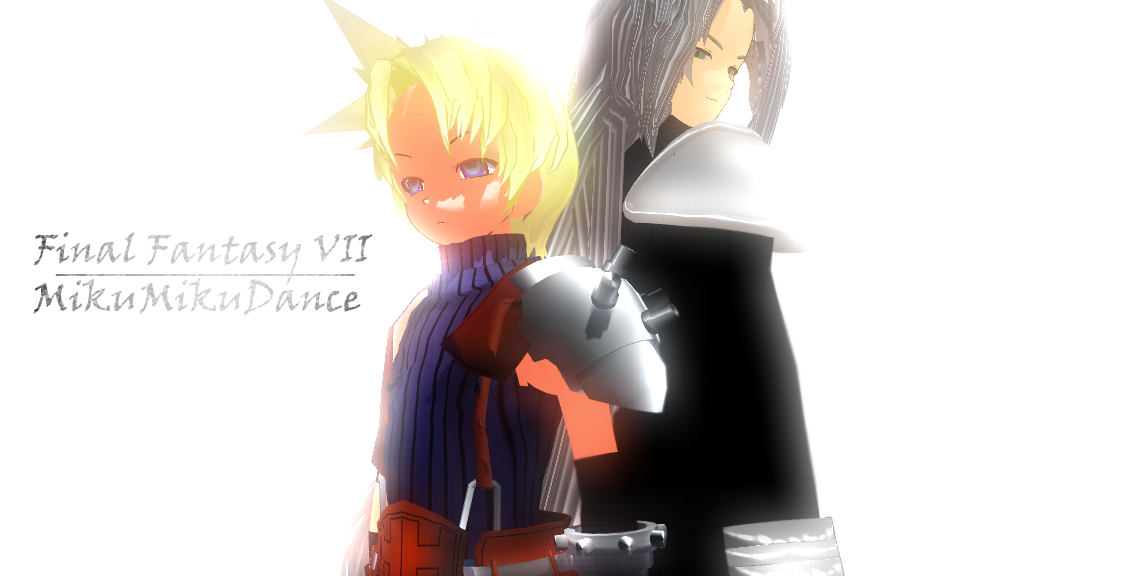 Final Fantasy VII MMD by KingdomHeartsNickey