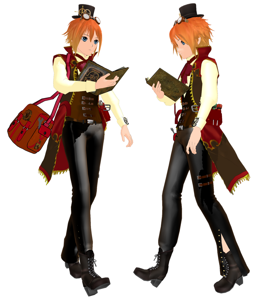 SteamPunk Yua My Oc by KingdomHeartsNickey
