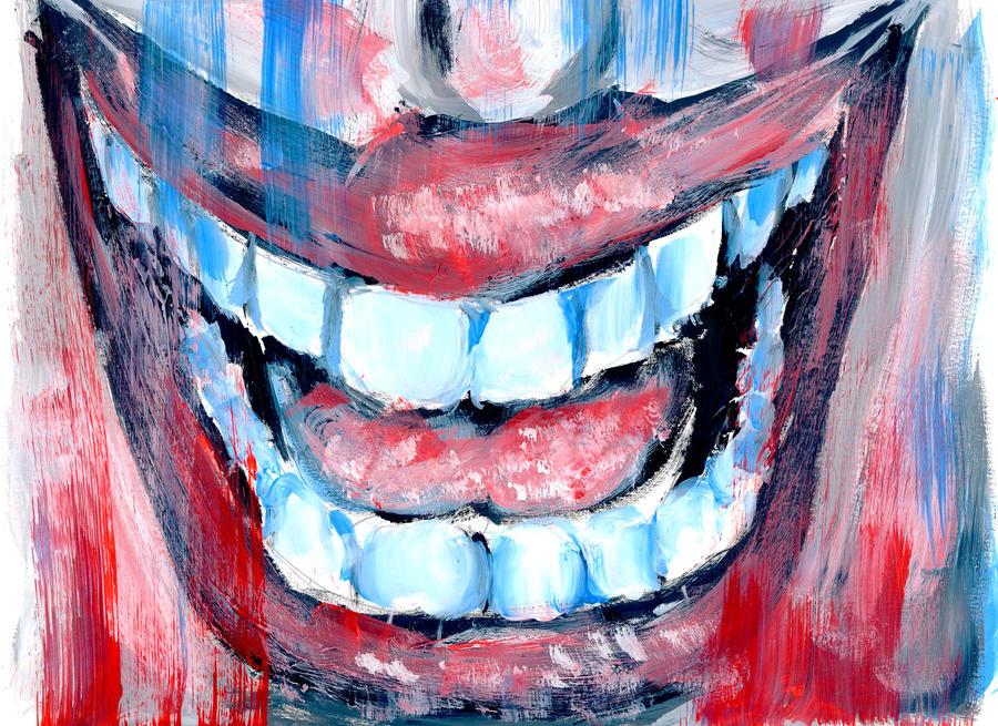 -A Smile- by MonochromeBIT