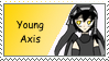 Young Axis Stamp by AxisARA