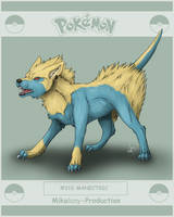 Pokedexproject - Manectric by Mikaley