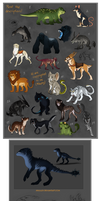 Adoptables - Name your price CLOSED by Mikaley