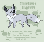 Pokemon Giveaway - 8 shiny Eevee by Mikaley