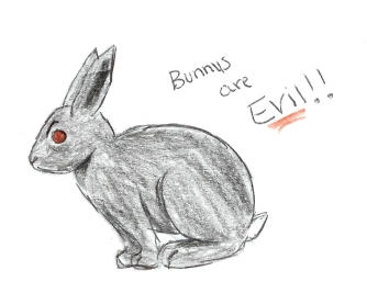 Bunnys are EVIL by Korofi