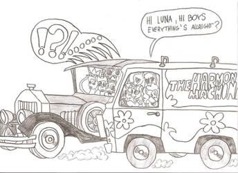 Surprise (MLP/Scooby Doo/Wacky Races) by Witkacy1994