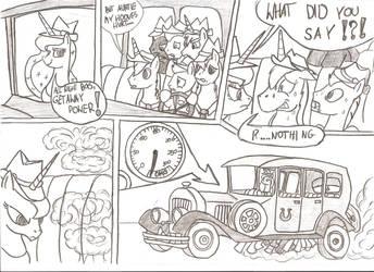Getaway Power (MLP/Wacky Races) by Witkacy1994