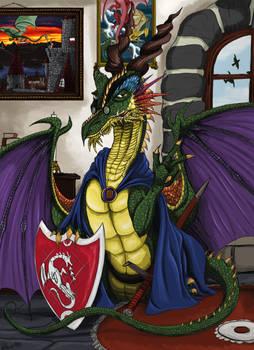 Jim Eckert - Wizard, Knight and Dragon