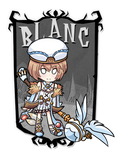 Blanc don't starve together mod cover