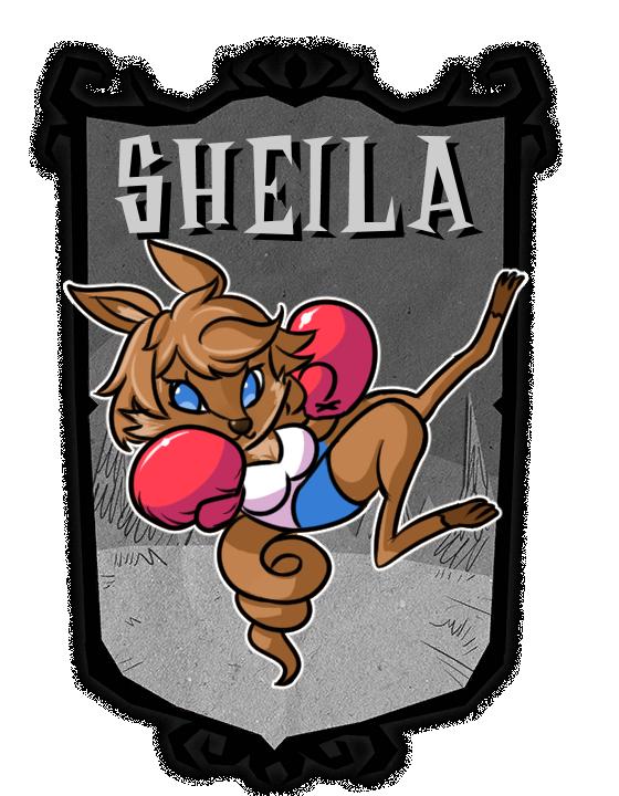 [CM] Don't Starve Together mod - Sheila by KelsuisP