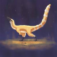 Sinosauropteryx prima by XStreamChaosOfficial