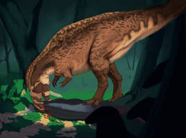Acrocanthosaurus atokensis by XStreamChaosOfficial