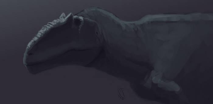 Giganotosaurus carolinii quick sketch