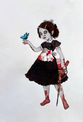 Little Sister Fanart by MiaMarmelade