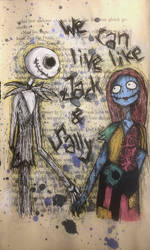 We can live like Jack and Sally by MiaMarmelade