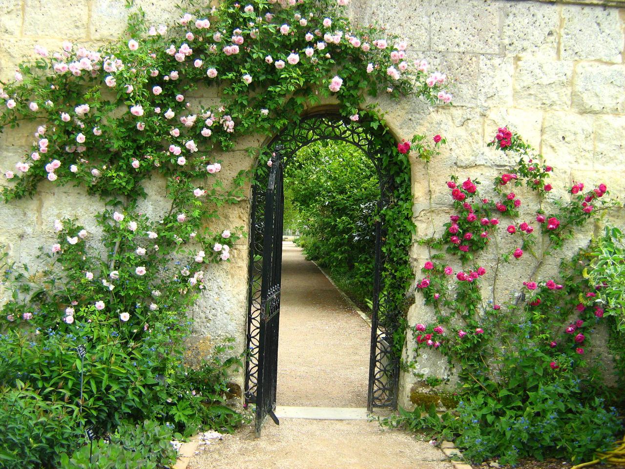Romantic Gate by Eszies-Eszie