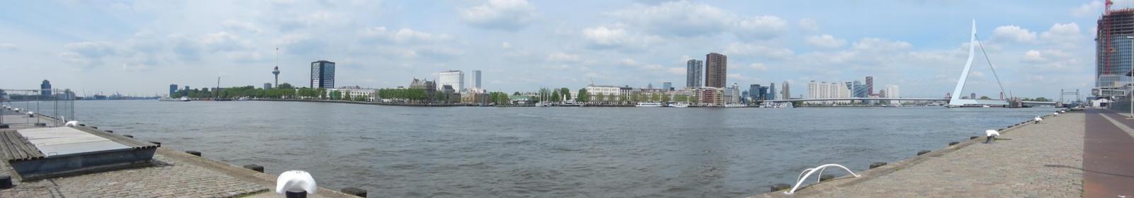Rotterdam New Meuse by Eszies-Eszie