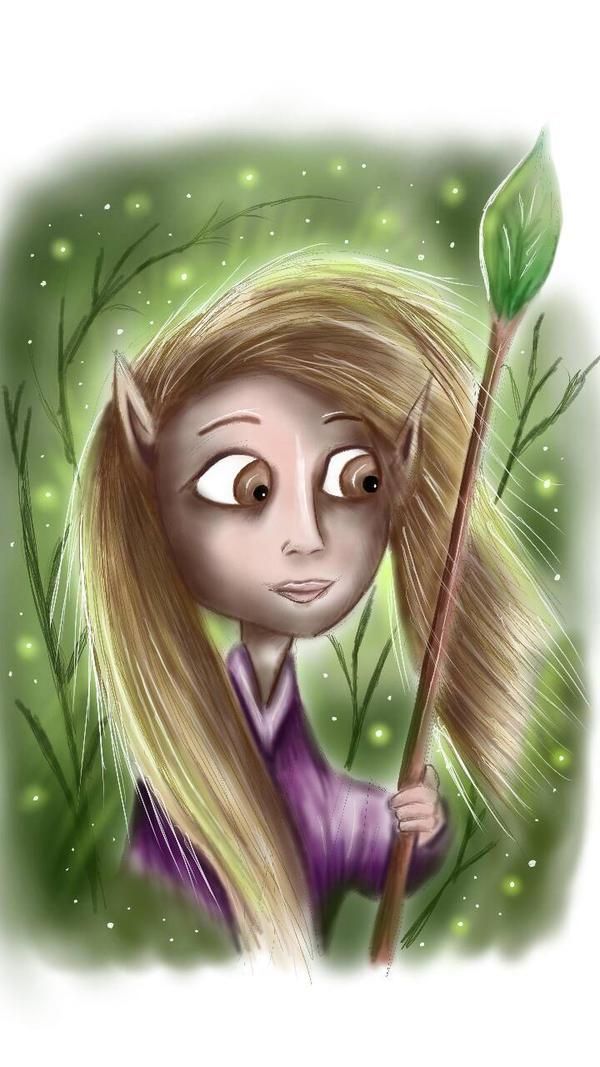 Forest Sprite by Amberwarrior