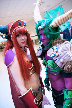 Alexstrasza and Ysera - World of Warcraft Cosplay