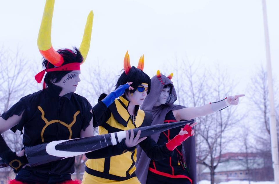 The Rebels - Ancestor Homestuck Cosplay by Mitternachto