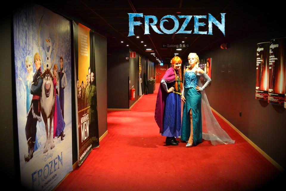 Frozen Anna Elsa Wallpaper