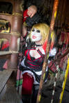 Harley Quinn Batman Knight Cosplay