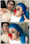 Buggy and Mr.3 Makeup test - One Piece