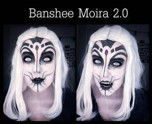 Banshee Moira 2.0 (Overwatch) Makeup