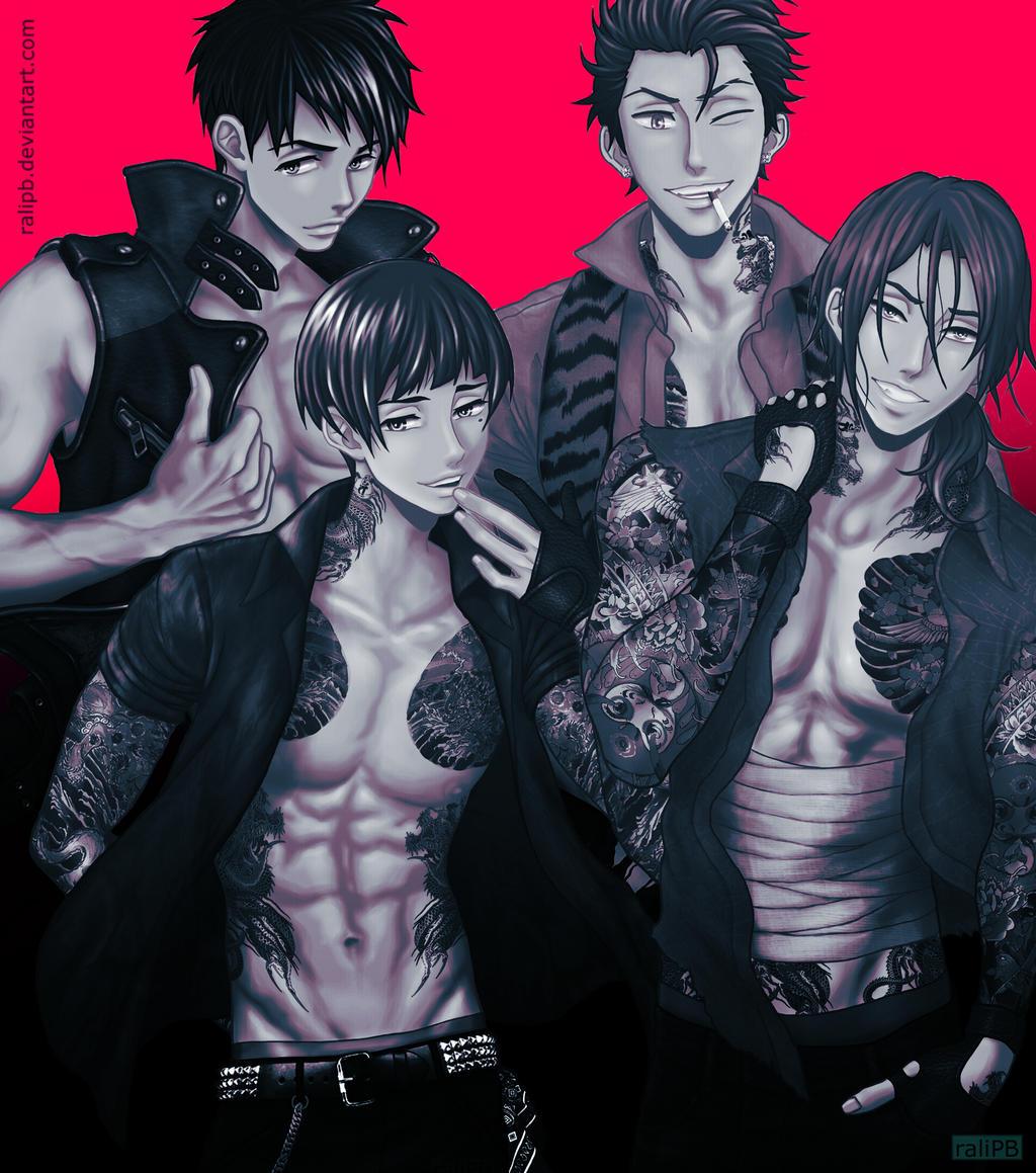 Samezuka Boys by raliPB