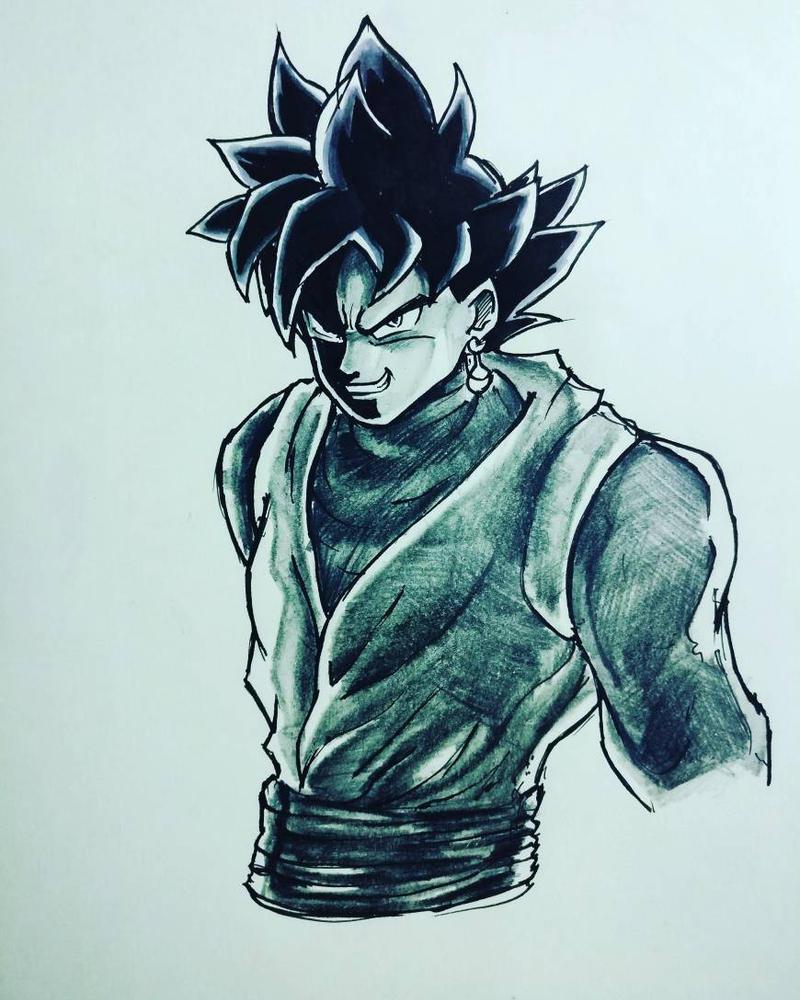 Goku Black by Monesh98