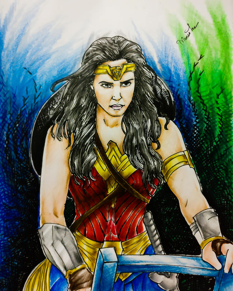 Wonder Woman by Monesh98