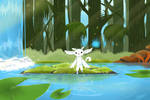 Ori and the blind forest : Thornfelt swamp