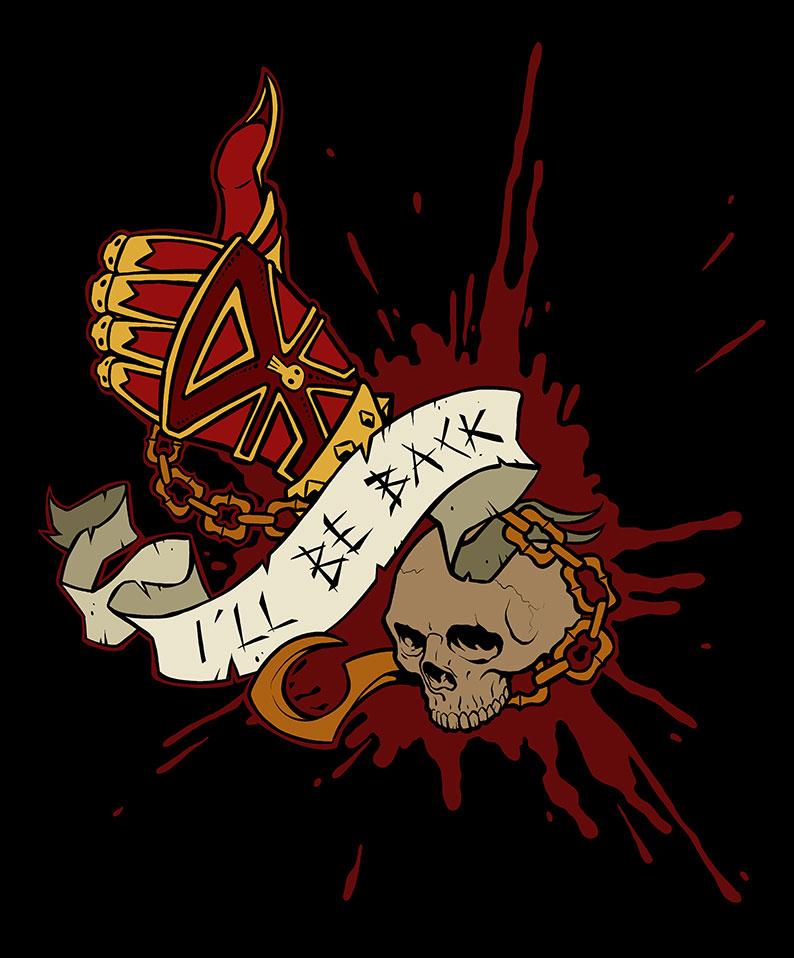 Warhammer TShirt - Khorne by MariaCalavera
