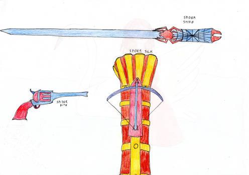 ARMI DEL RAGNO - SPIDER WEAPONS