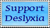 Dyslexia Stamp by Centauran