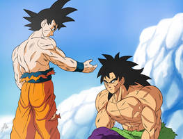 Goku y Broly , Nuevo aliado?