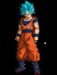 Goku Ssj Blue! by zala77s