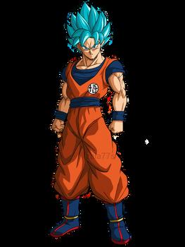 Goku Ssj Blue!