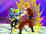 Goku vs Frost !! (Torneo de Champa)