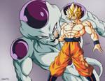 Poster Goku vs Freezer!