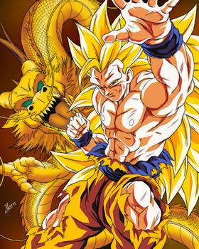Goku ssj3 mini poster!