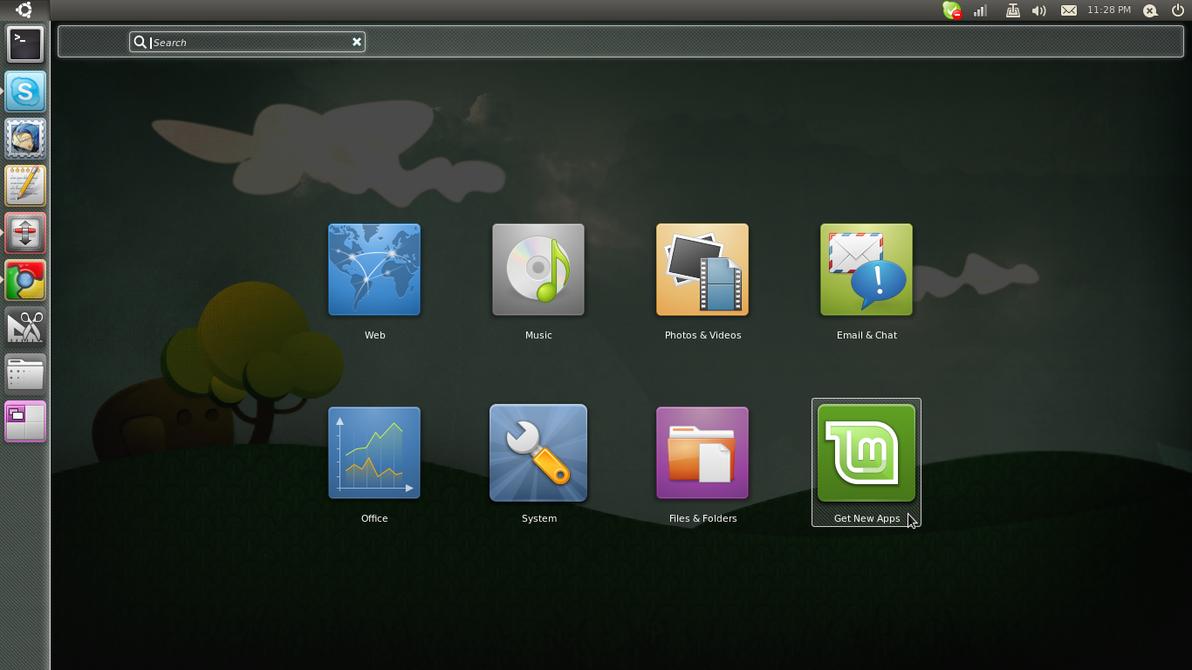linux mint 17 wallpaper changer