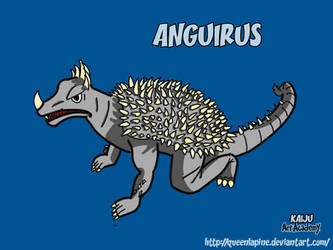 Anguirus by QueenLapine