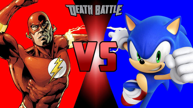 Death Battle The Flash Vs Sonic The Hedgehog By Sharknado14 On Deviantart