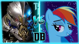DB | Starscream vs. Rainbow Dash Rematch