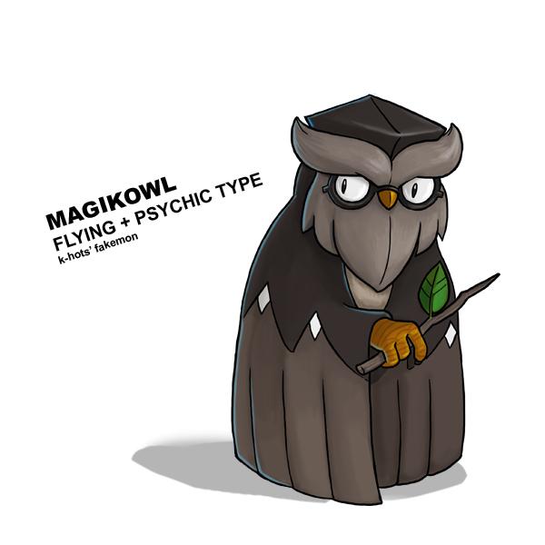 Magikowl by k-hots