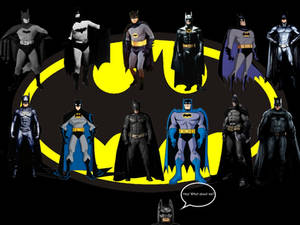 We Are Vengeance! We Are The Night! WE ARE BATMAN!