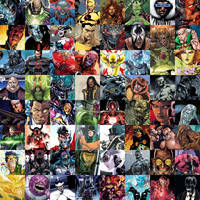 DC Comics Supervillains by benkhmatheson