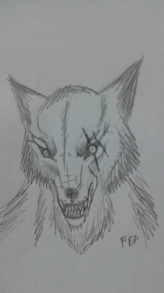 War wolf by LuarSoulwolf