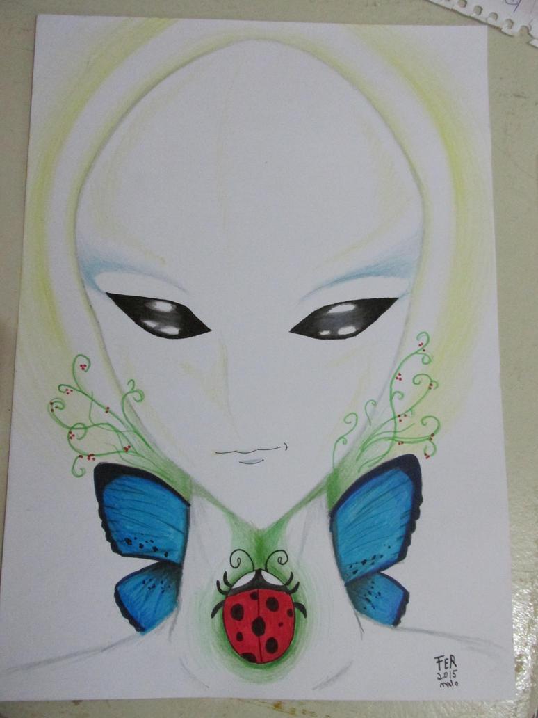 Elemental Alien by LuarSoulwolf