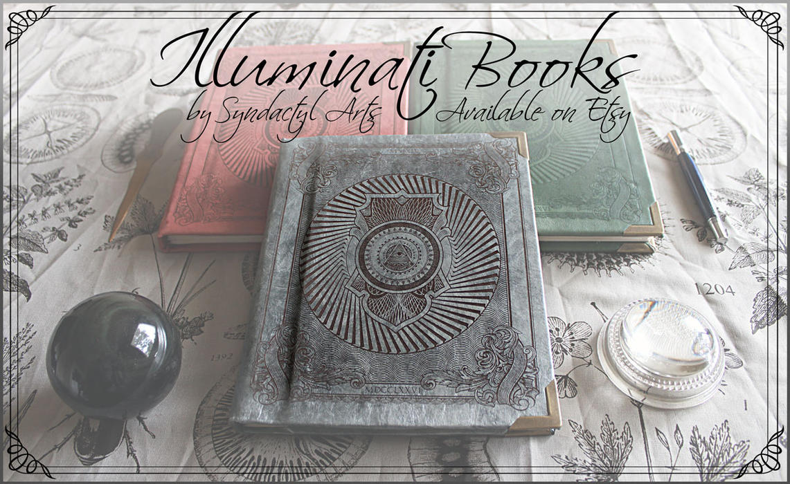 Illuminati Books are for Sale! by ChaoseVIIn